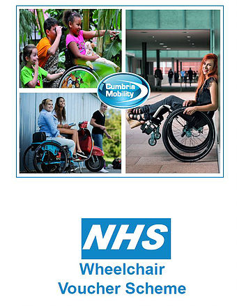 Logo - NHS Wheelchair Voucher Scheme