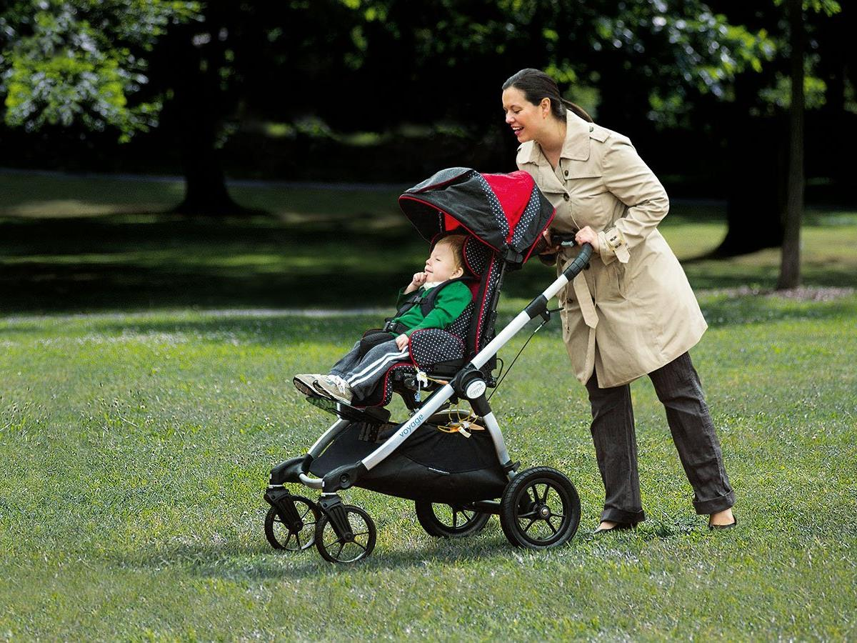 Zippie Voyage - No compromise early intervention stroller